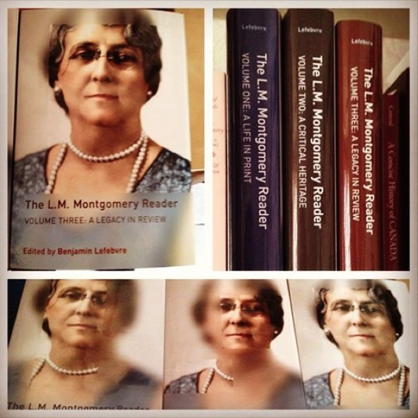 Montage of covers of The L.M. Montgomery Reader